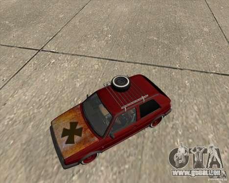 VW Golf II Shadow Crew pour GTA San Andreas vue de côté