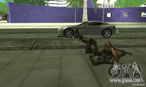 Sam Fisher Army SCDA pour GTA San Andreas cinquième écran