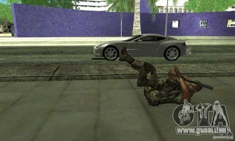 Sam Fisher Army SCDA für GTA San Andreas fünften Screenshot