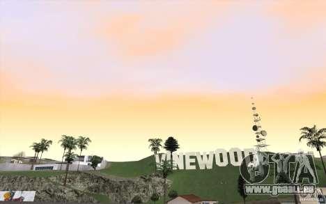 Timecyc Los Angeles pour GTA San Andreas troisième écran