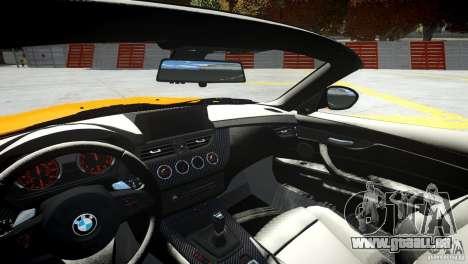 BMW Z4 sDrive 28is für GTA 4 Seitenansicht