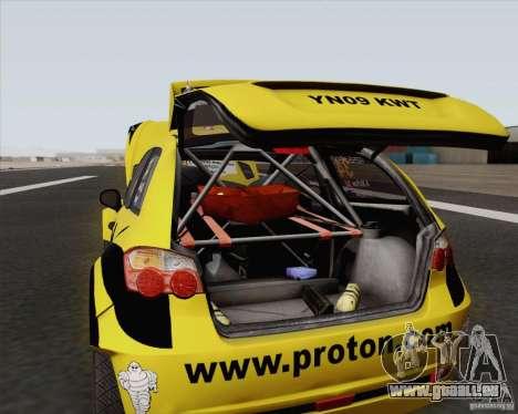 Satria Neo S2000 pour GTA San Andreas vue de droite