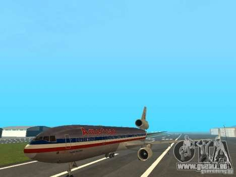 McDonell Douglas MD11 American Airlines pour GTA San Andreas