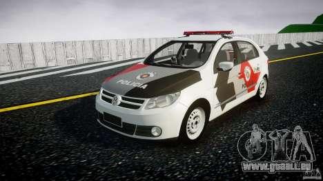 Volkswagen Gol G5 PMSP [ELS] pour GTA 4