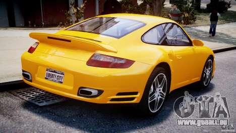 Porsche 911 Turbo V3.5 für GTA 4 Innenansicht