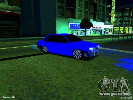 VAZ 21099 Turbo pour GTA San Andreas laissé vue