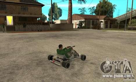 Stage 6 Kart Beta v1.0 pour GTA San Andreas vue de droite