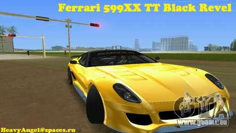 Ferrari 599XX für GTA Vice City