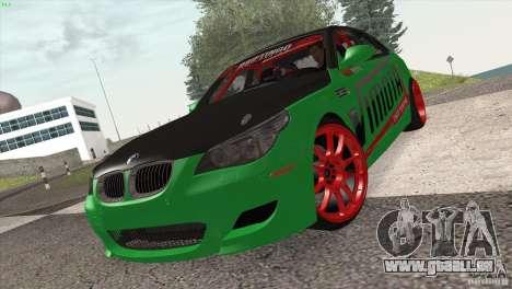 BMW M5 E60 Darius Balys für GTA San Andreas linke Ansicht