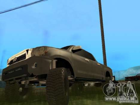 Toyota Tacoma 2011 für GTA San Andreas linke Ansicht