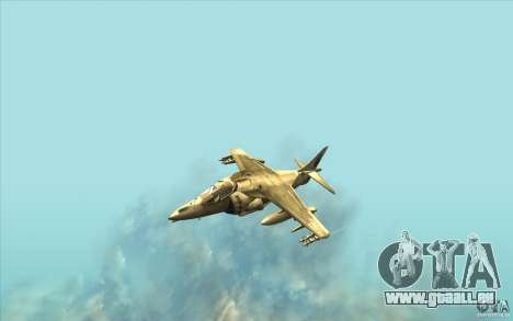 Harrier GR7 für GTA San Andreas