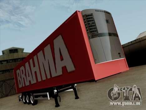 Trailer für Scania R620 Brahma für GTA San Andreas linke Ansicht