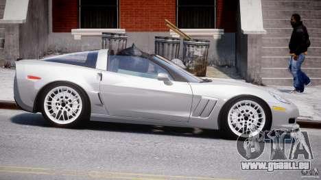 Chevrolet Corvette Grand Sport 2010 v2.0 für GTA 4 Innenansicht