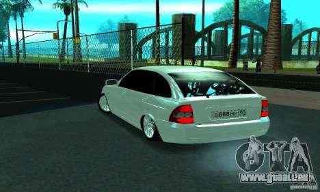 Lada Priora Rostov pour GTA San Andreas vue de droite
