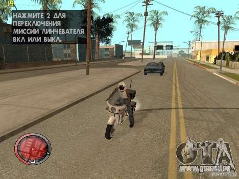 Outre le HUD de GTA IV pour GTA San Andreas quatrième écran