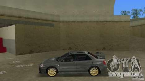 Subaru Impreza WRX STi pour une vue GTA Vice City de la gauche