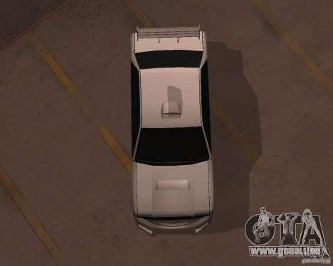 Taxi pour GTA San Andreas vue de droite