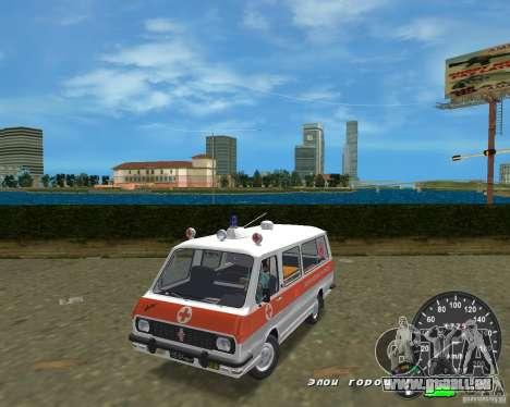 RAF 2203 Ambulanz für GTA Vice City