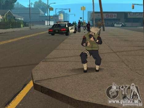Hatake Kakashi From Naruto für GTA San Andreas
