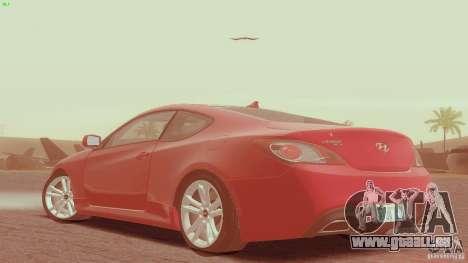 Hyundai Genesis Tunable für GTA San Andreas linke Ansicht