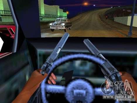Ambulance 1987 San Andreas pour GTA San Andreas salon