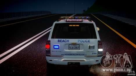 Chevrolet Trailblazer Police V1.5PD [ELS] für GTA 4-Motor