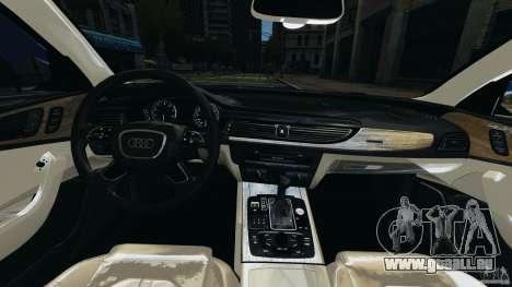 Audi A6 für GTA 4 Rückansicht