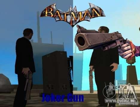 Joker-Gun/Cannon-Joker für GTA San Andreas