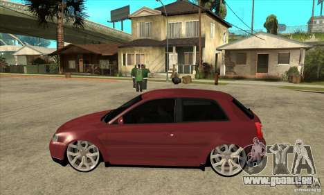 Audi A3 für GTA San Andreas linke Ansicht