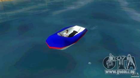 Speedboat dinghy pour GTA Vice City
