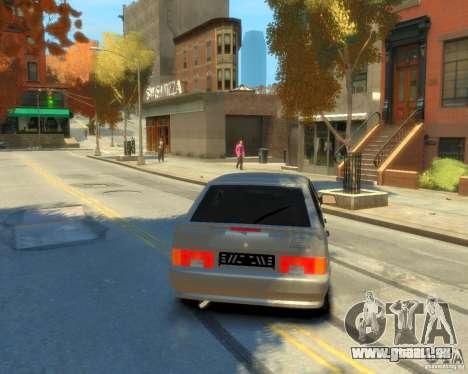 ВАЗ 2114 pour GTA 4 Vue arrière de la gauche