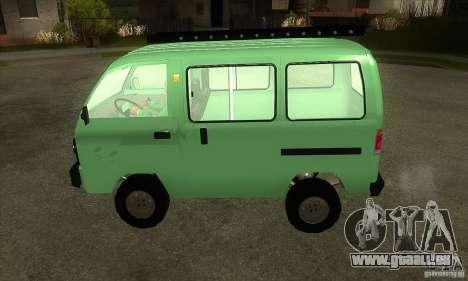 Suzuki Carry 1993 pour GTA San Andreas laissé vue