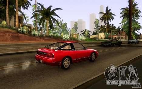 Nissan 180SX Kouki pour GTA San Andreas vue arrière