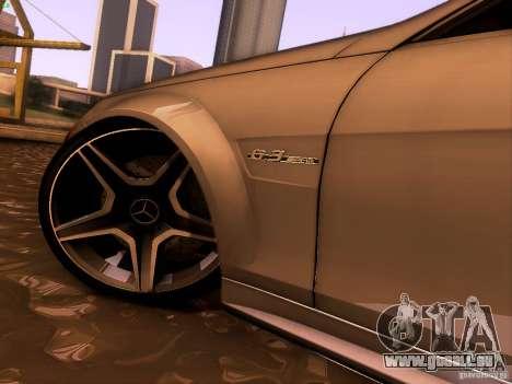 Mercedes-Benz C36 AMG pour GTA San Andreas vue intérieure