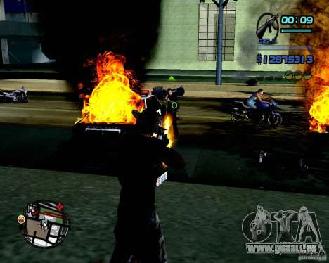 Not ENB pour GTA San Andreas deuxième écran