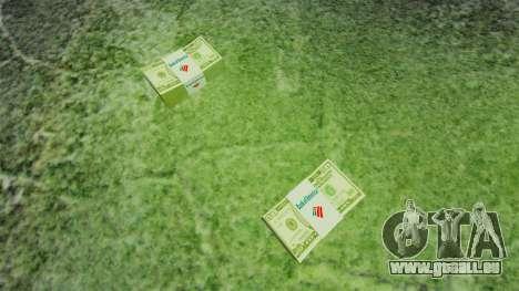 L'encours des billets en coupures de 50 $ aux Ét pour GTA 4 secondes d'écran