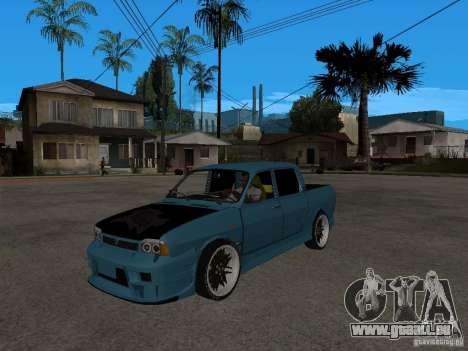 Dacia 1400 Pickup Battle Machine für GTA San Andreas