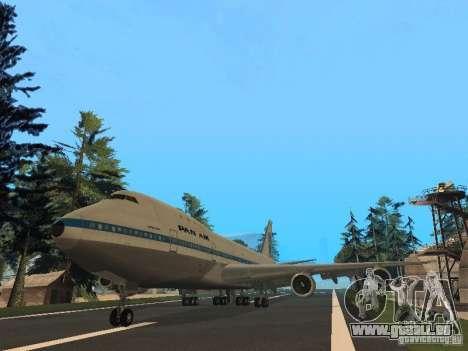 Boeing 747-100 Pan American Airways pour GTA San Andreas