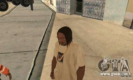Lange dunkle Haare für GTA San Andreas