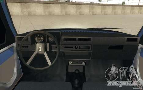 1102-ZAZ Tavria Tuning pour GTA San Andreas vue de droite