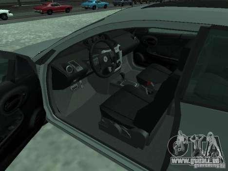 Saturn Ion Quad Coupe 2004 pour GTA San Andreas sur la vue arrière gauche