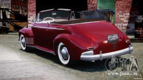 Chevrolet Special DeLuxe 1941 pour GTA 4 Vue arrière de la gauche