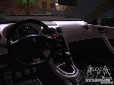 Peugeot RCZ 2010 für GTA San Andreas rechten Ansicht