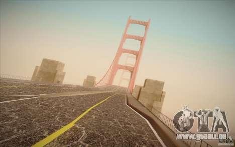 New roads San Fierro pour GTA San Andreas