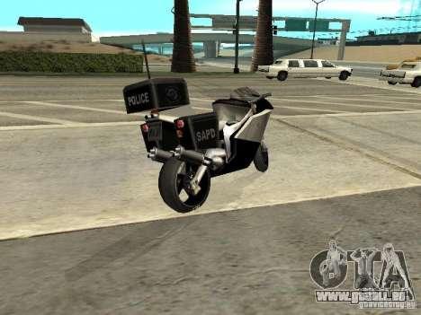 NRG-500 Police für GTA San Andreas linke Ansicht