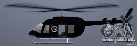 FBI Maverick für GTA Vice City zurück linke Ansicht