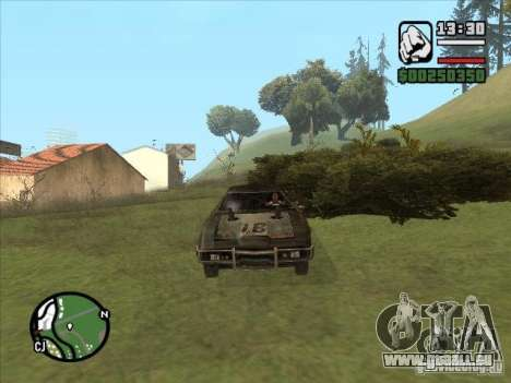 Malice from FlatOut 2 für GTA San Andreas linke Ansicht
