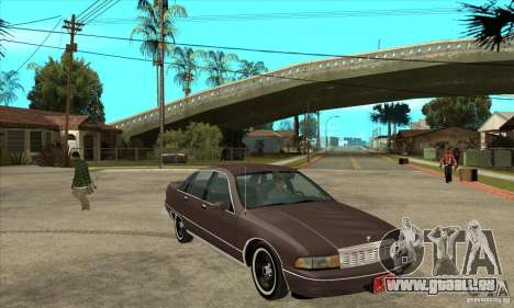 Chevrolet Caprice 1991 pour GTA San Andreas vue de côté