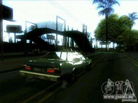 Un taxi de dri3r pour GTA San Andreas vue de droite