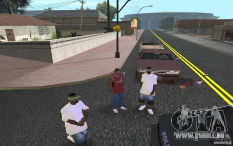 Skins Grove Street für GTA San Andreas dritten Screenshot